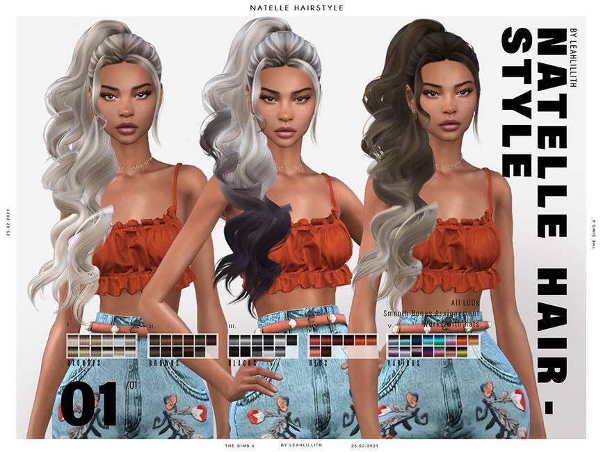 Женская прическа - Natelle Hairstyle