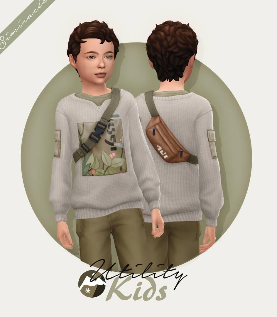 Детский свитер - Utility Sweater