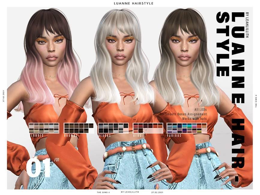 Женская прическа - Luanne Hairstyle