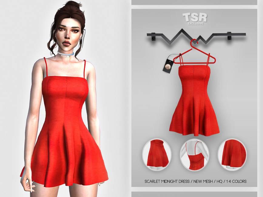 Платье - Scarlet Midnight Dress