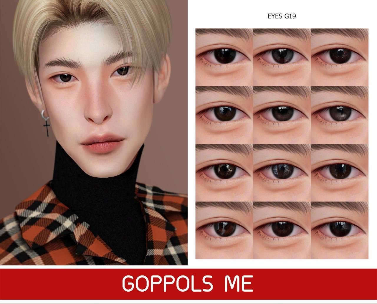 Линзы - Eyes G19