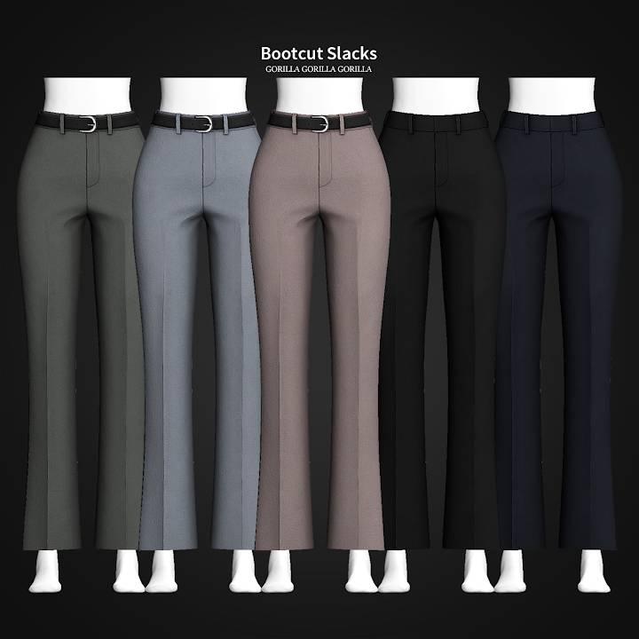 Женские брюки - Bootcut Slacks