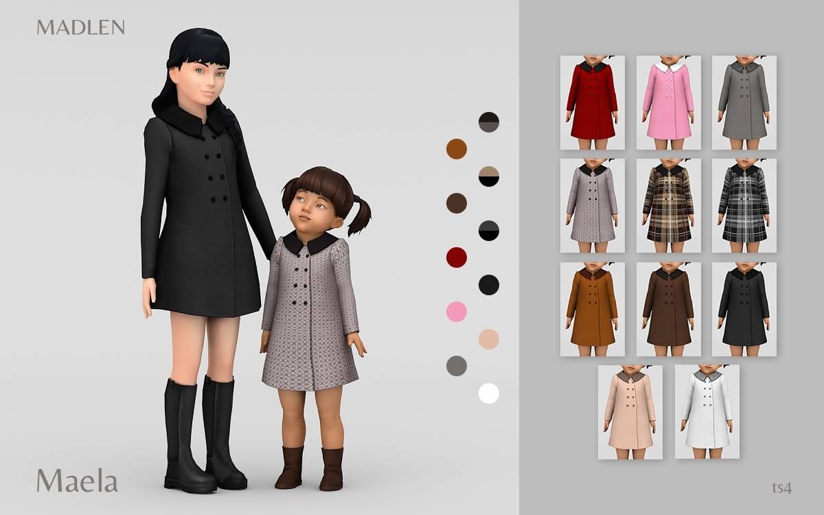 Пальто для девочек и малышек - Maela Coat