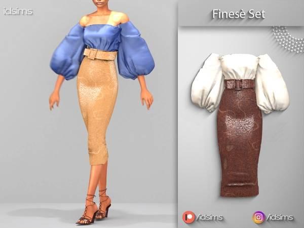 Блуза и юбка - finese set