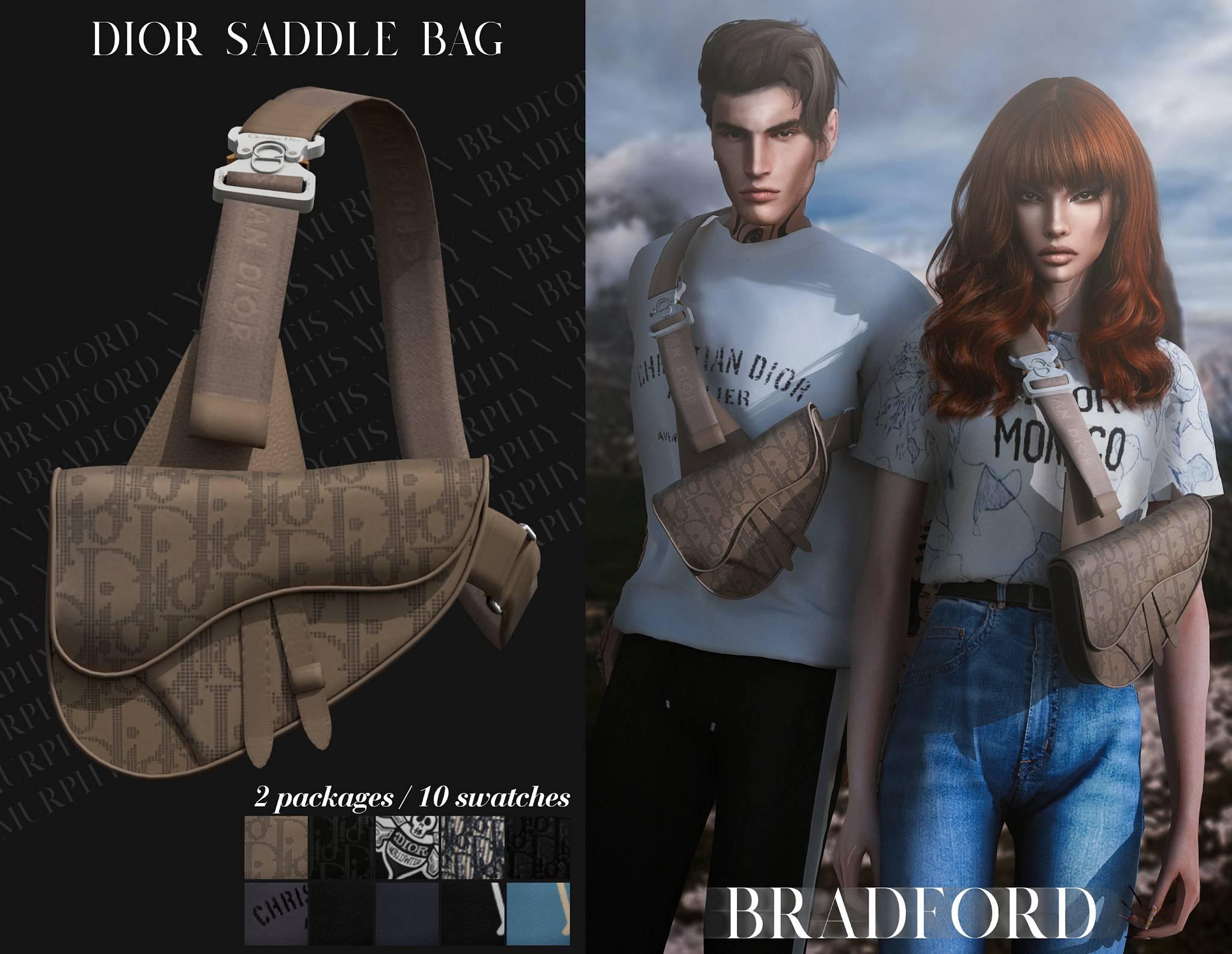 Сумка - Dior Saddle Bag