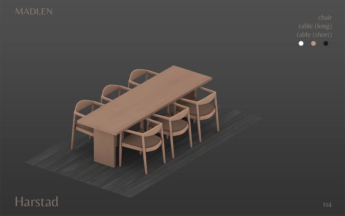 Сет для столовой - Harstad Dining Set
