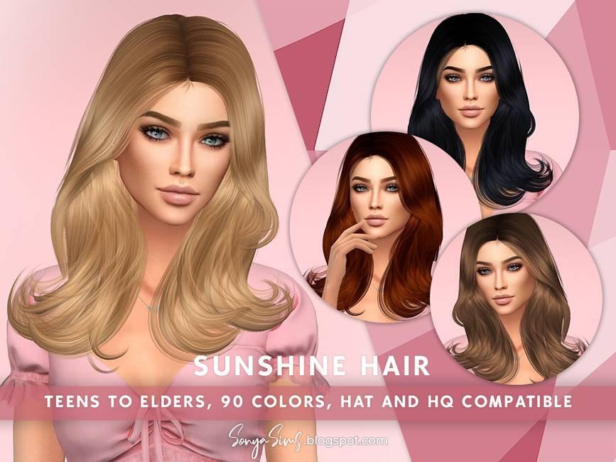 Женская прическа - Sunshine Hair