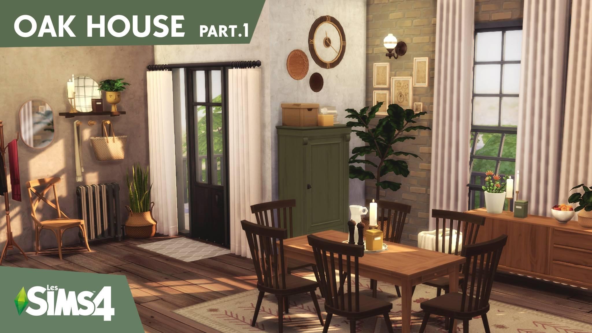 Столовая комната - OAK HOUSE part.1