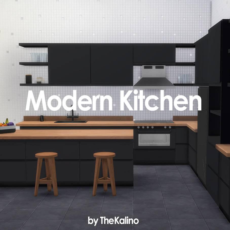 Кухня - Modern Kitchen Set