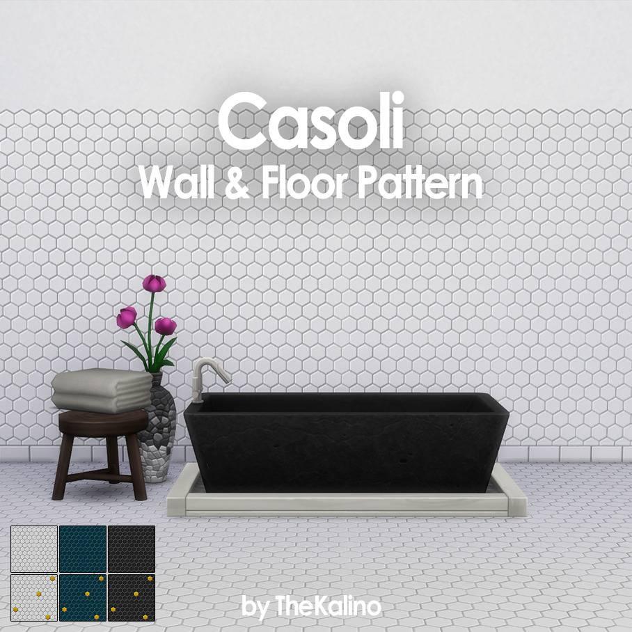 Плитка для стен и пола - Casoli Wall & Floor Pattern