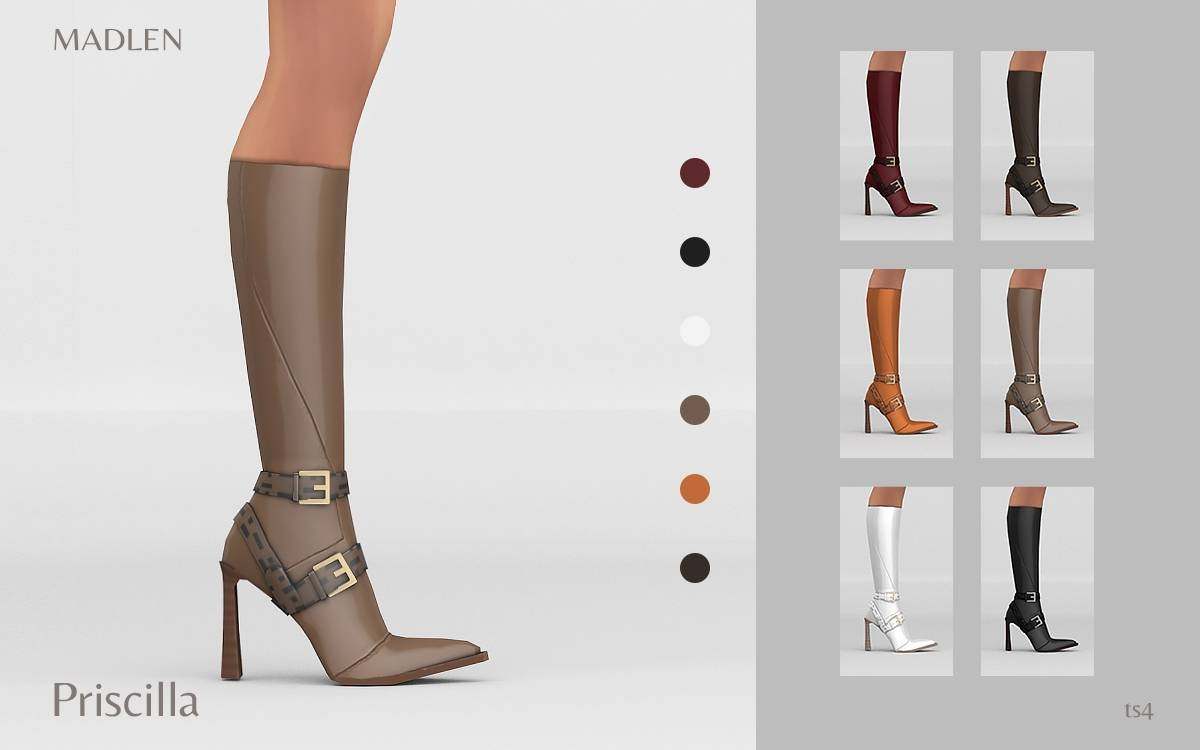Сапоги - Priscilla Boots