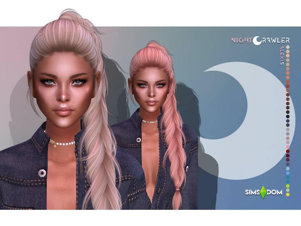 Женская прическа - ALEXIS HAIR