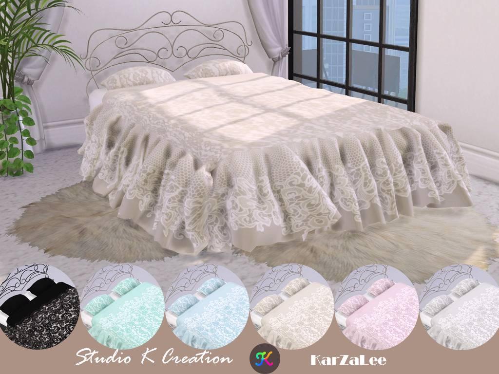 Кровать - SKC Lace bed