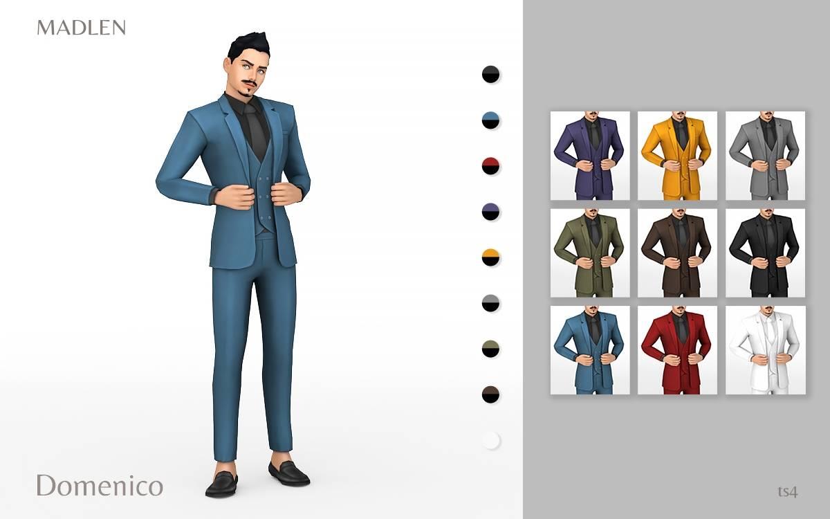 Мужской костюм - Domenico Outfit