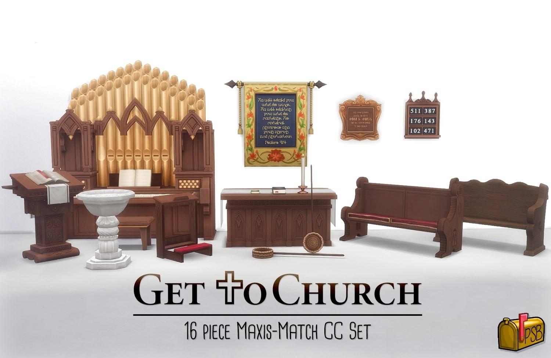 Набор для церкви - Get to Church Stuff Pack