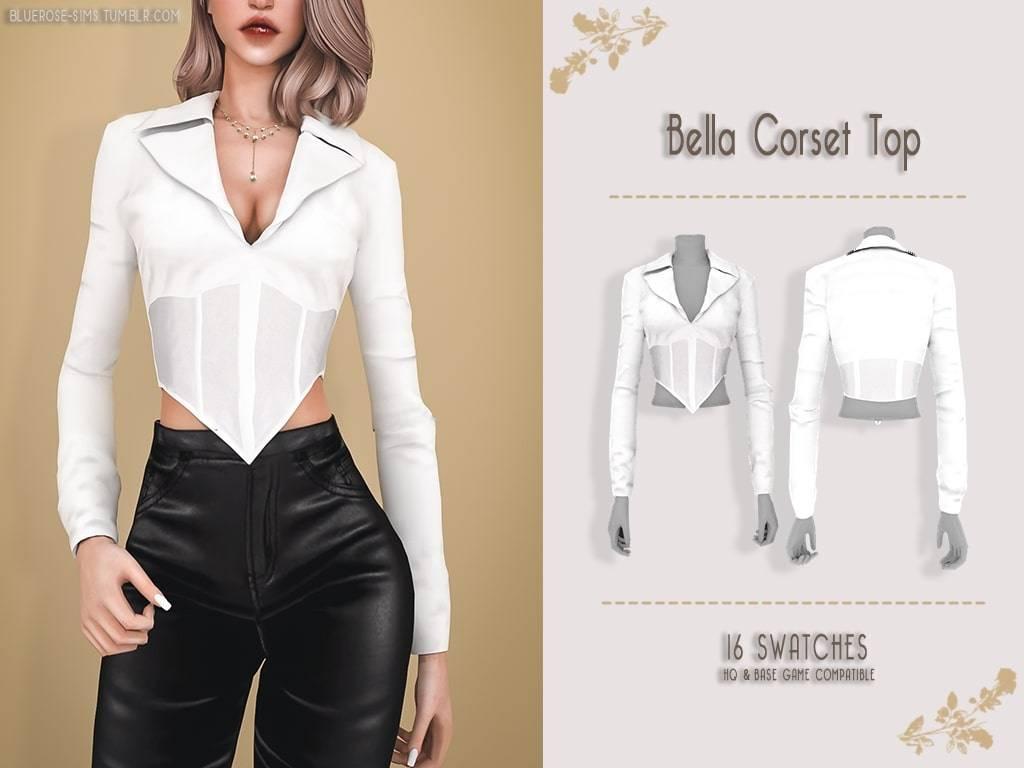Блузка - Bella Corset top