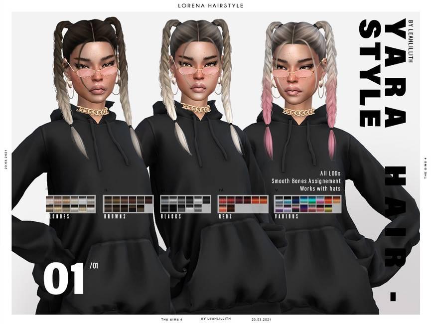 Женская прическа - Yara Hairstyle