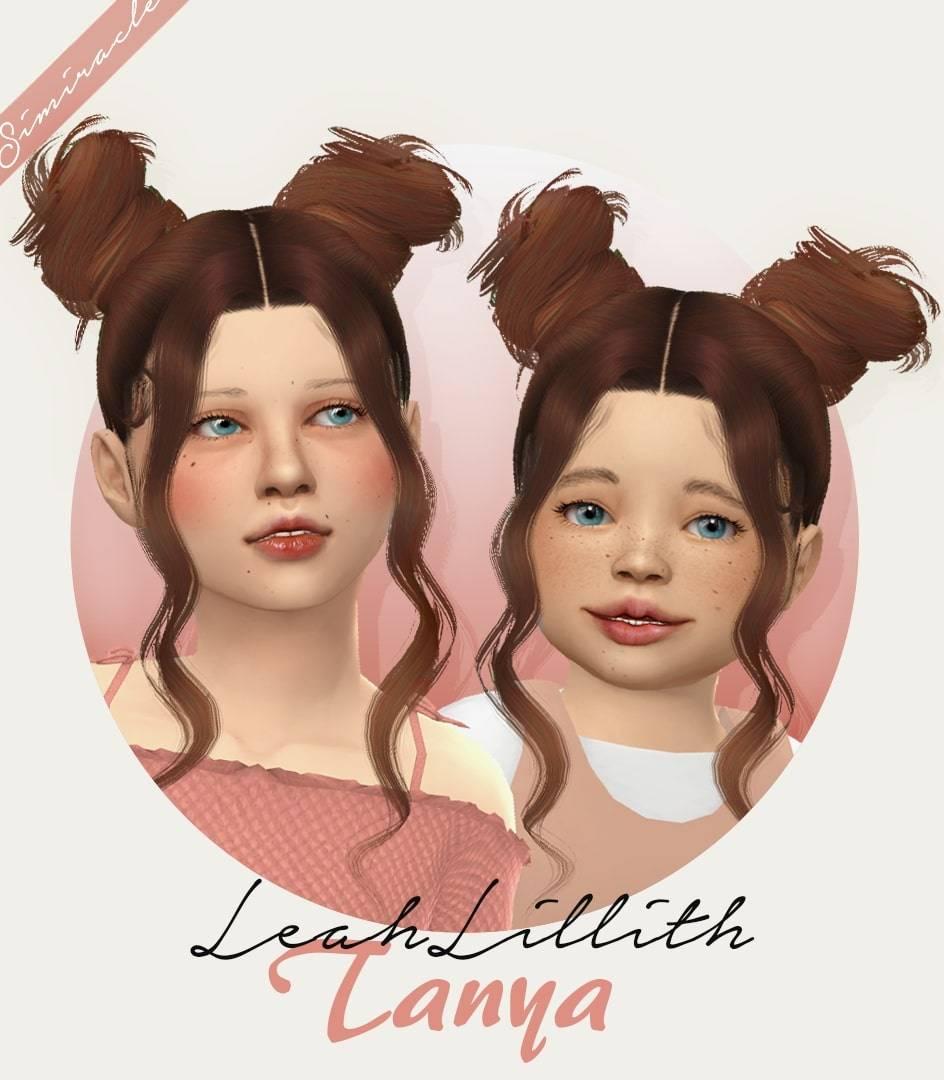 Прическа - LeahLillith Tanya