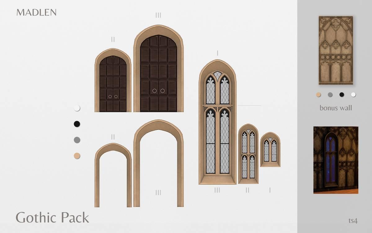 Строительный набор - Gothic Build Pack