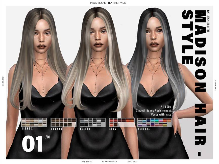 Женская прическа - Madison Hairstyle