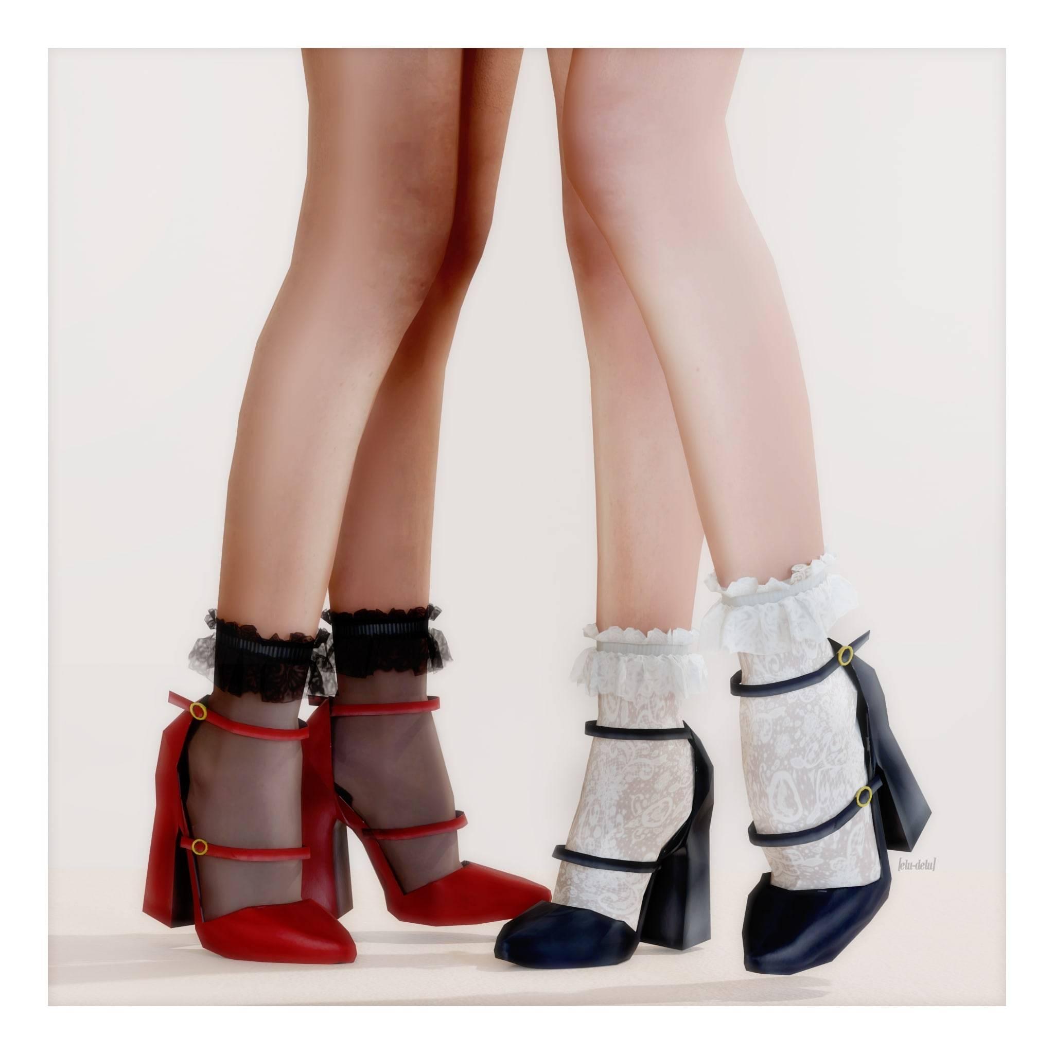 Туфли и носки - Dreamy Shoes