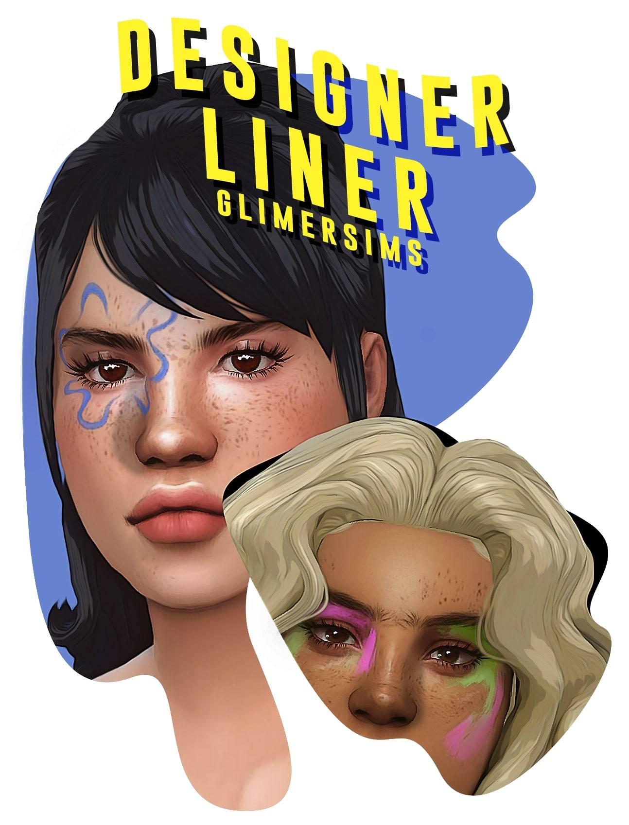 Макияж глаз - designer liner