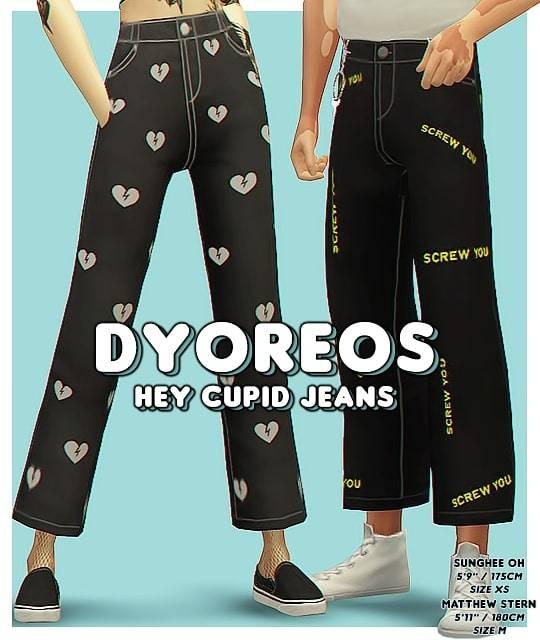Джинсы - Hey Cupid Jeans