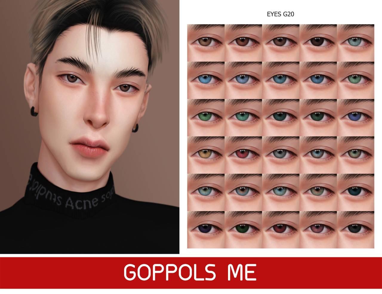 Линзы - Eyes G20