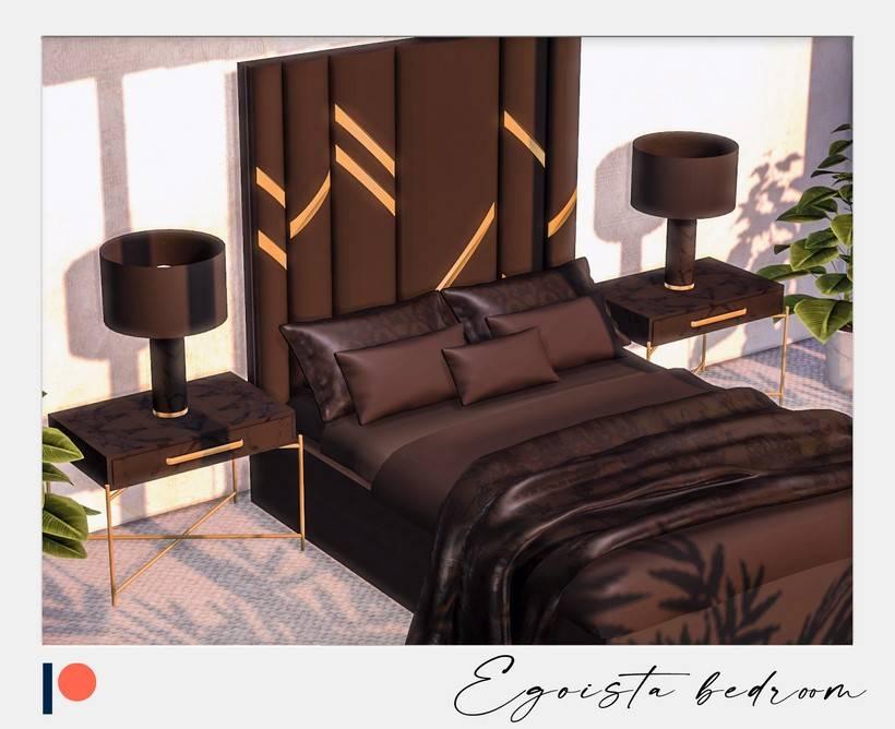 Спальня - Egoista bedroom