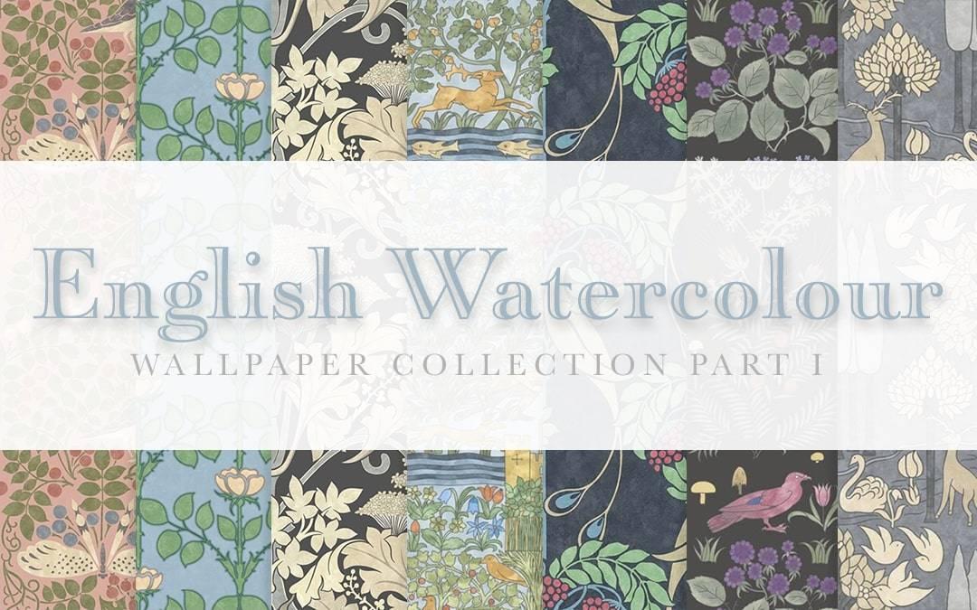 Обои - English Watercolour Wallpaper Collection Part I