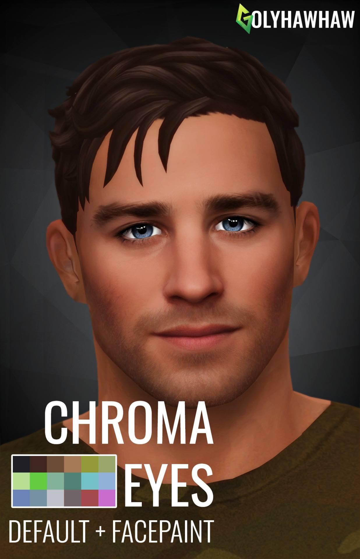 Глаза и линзы - CHROMA EYES