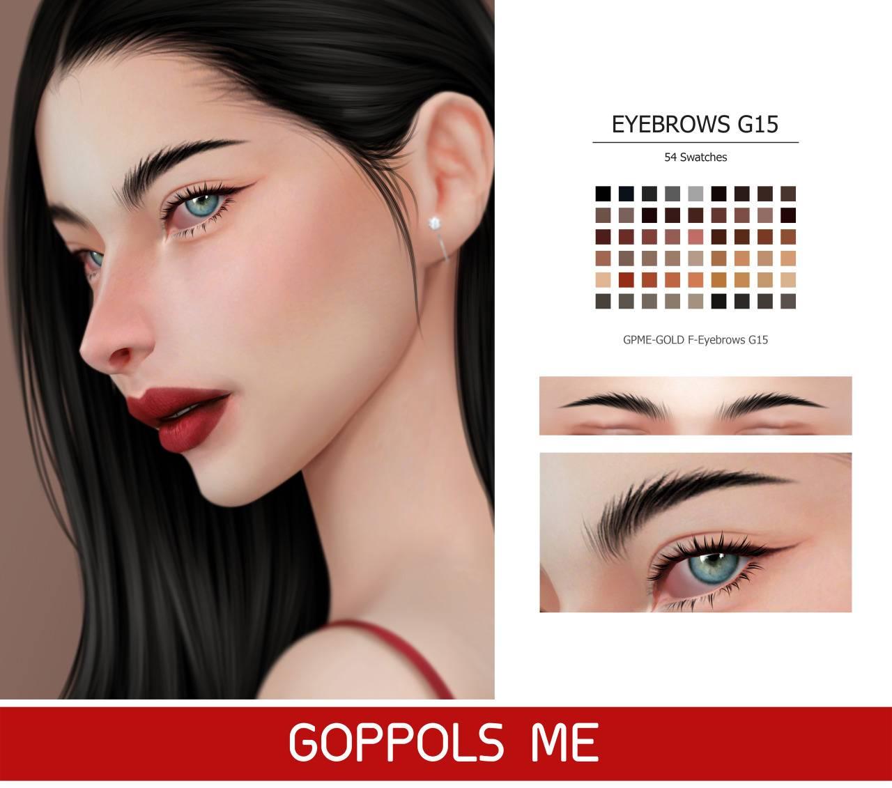 Брови - Eyebrows G15