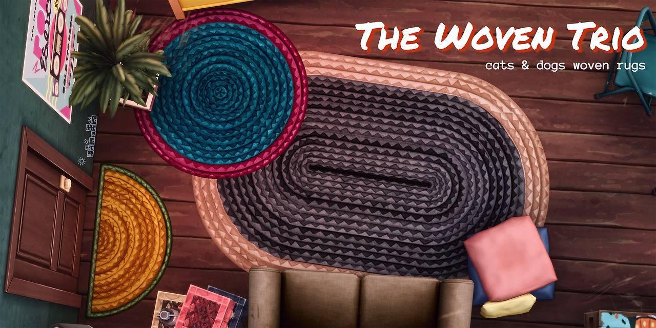 Набор ковров - THE WOVEN TRIO RUGS
