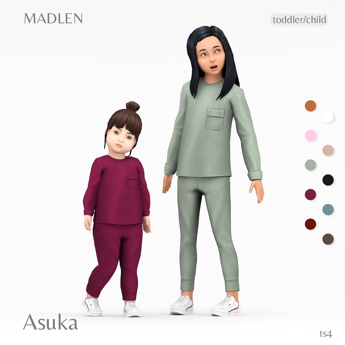 Домашний комплект - Asuka Outfit