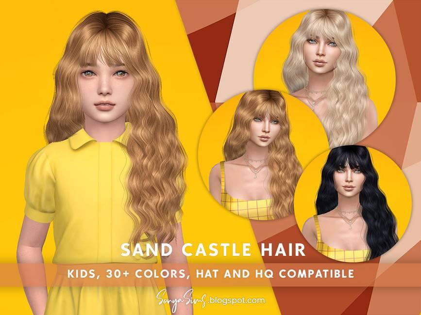 Детская прическа - Sand Castle Hair (KIDS)