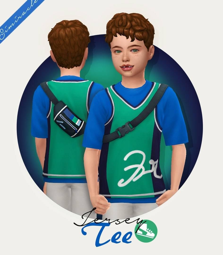 Детская футболка с сумкой - Jersey Tee