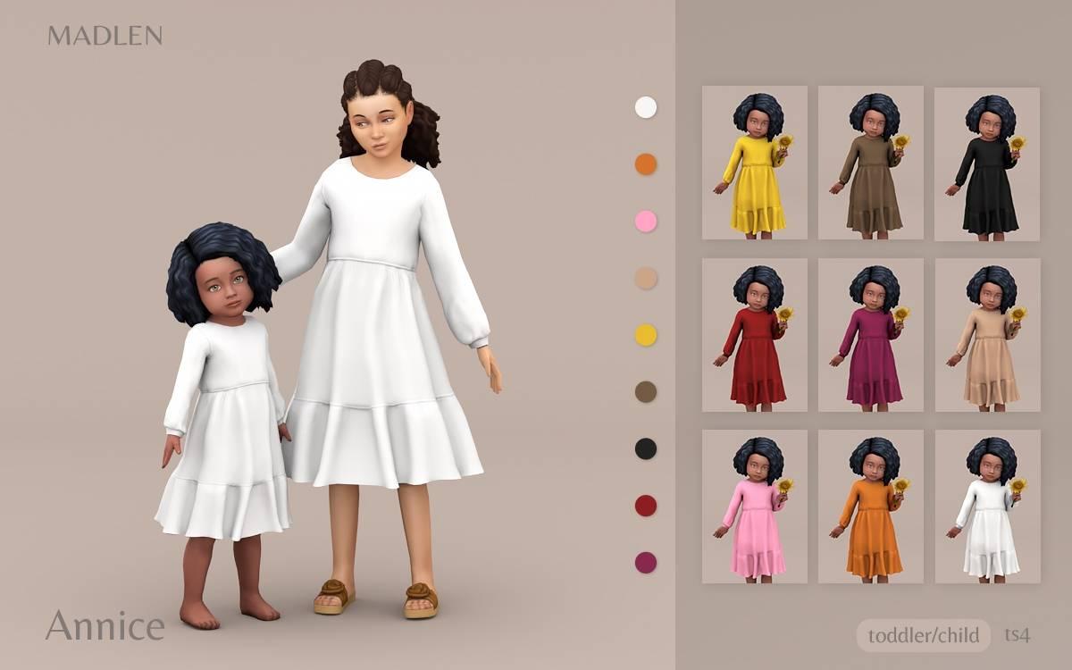 Платье для девочек и малышек - Annice Dress