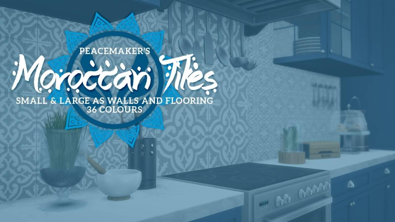 Плитка для стен и пола - Moroccan Tiles
