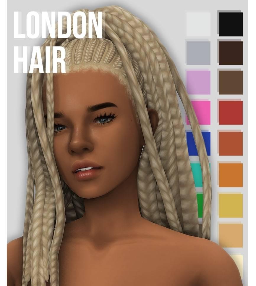 Женская прическа - london hair