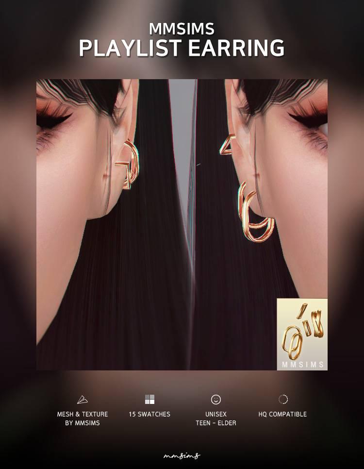 Пирсинг сет - Playlist Earring