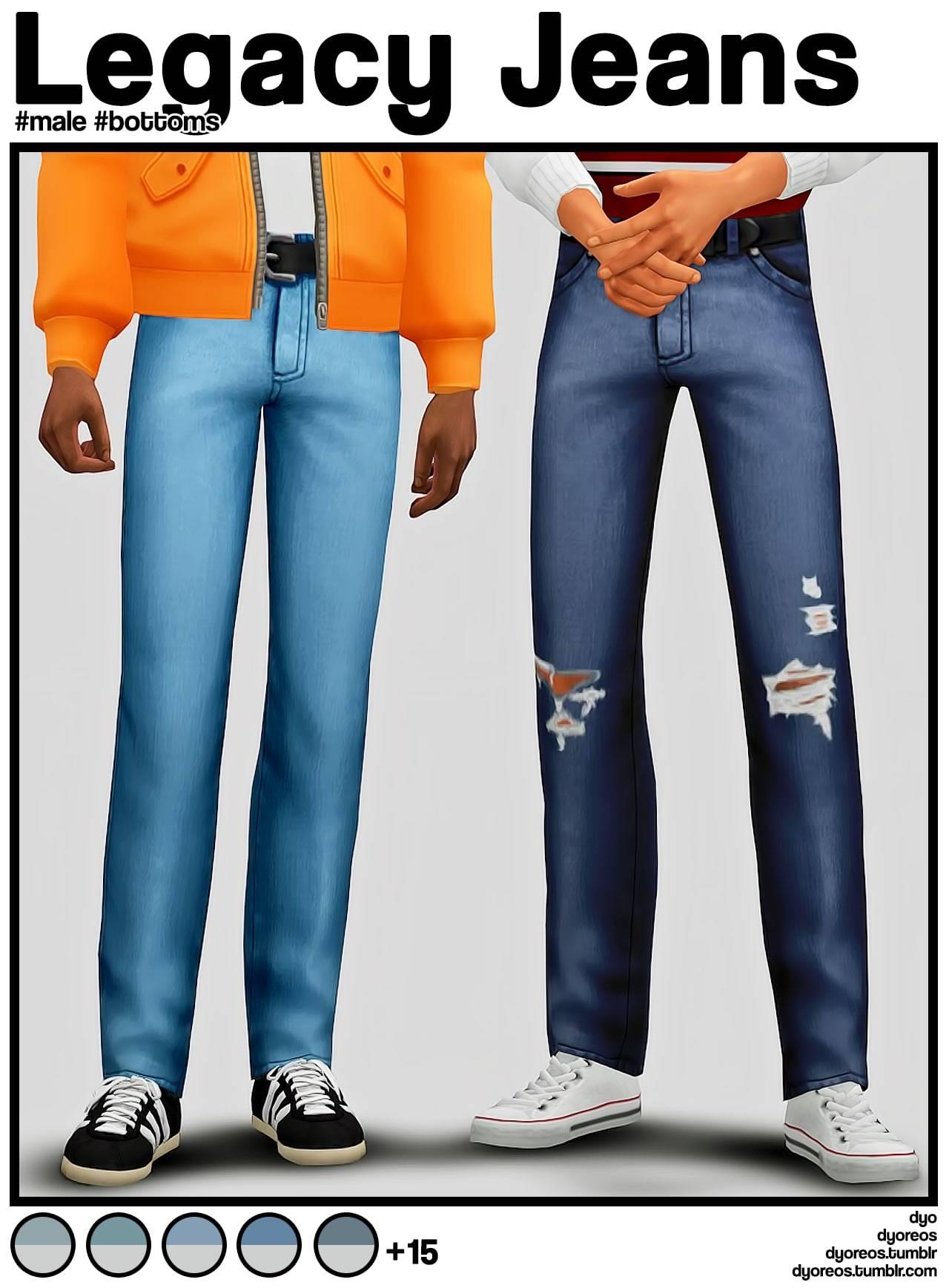 Мужские джинсы - Legacy Jeans