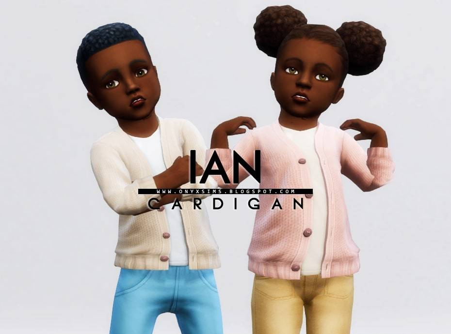 Кардиган и топ для малышей - IAN CARDIGAN