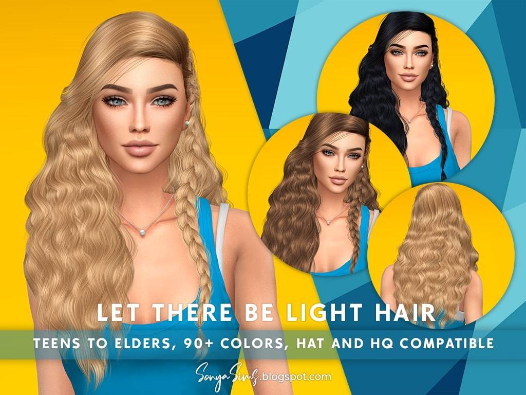 Женская прическа - Let There be Light Hair