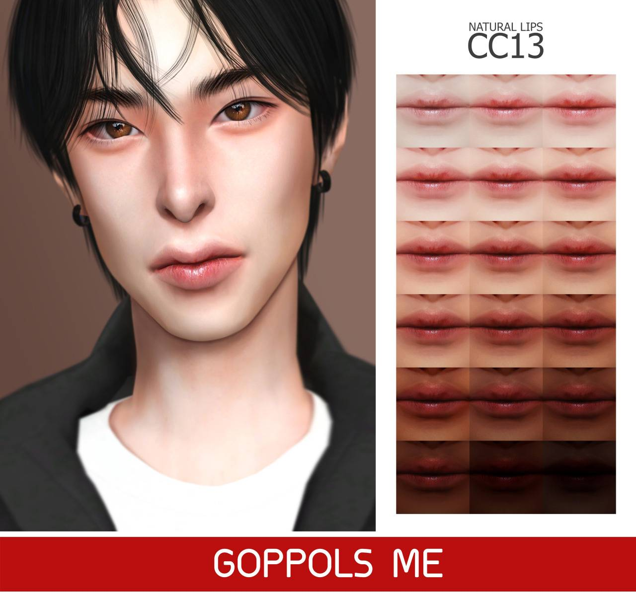 Бальзам - Natural Lips CC13