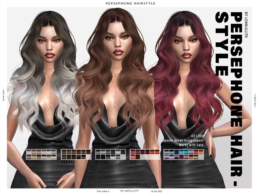 Женская прическа - Persephone Hairstyle