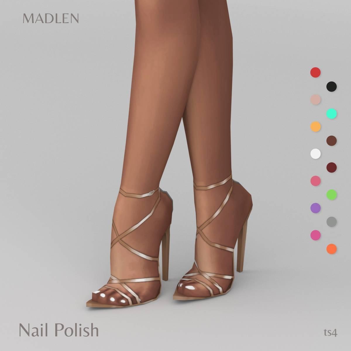 Педикюр - Nail Polish