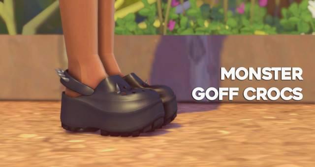 Сабо - Monster Goff Crocs