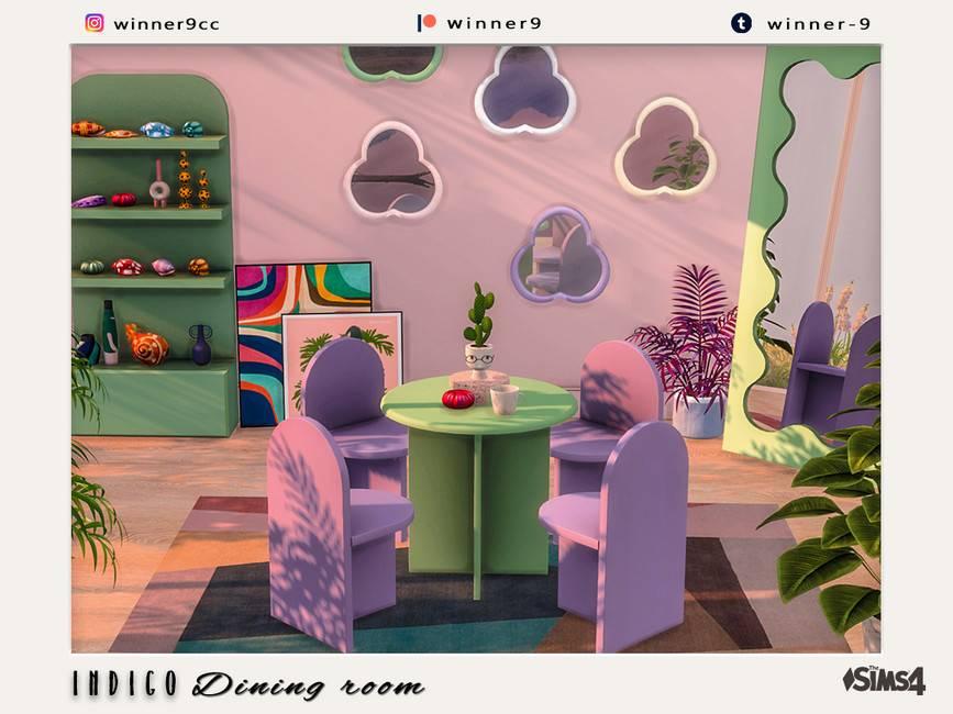 Столовая - Indigo Dining room