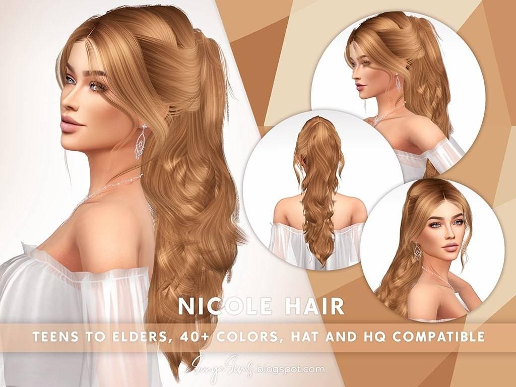Женская прическа - Nicole Hair