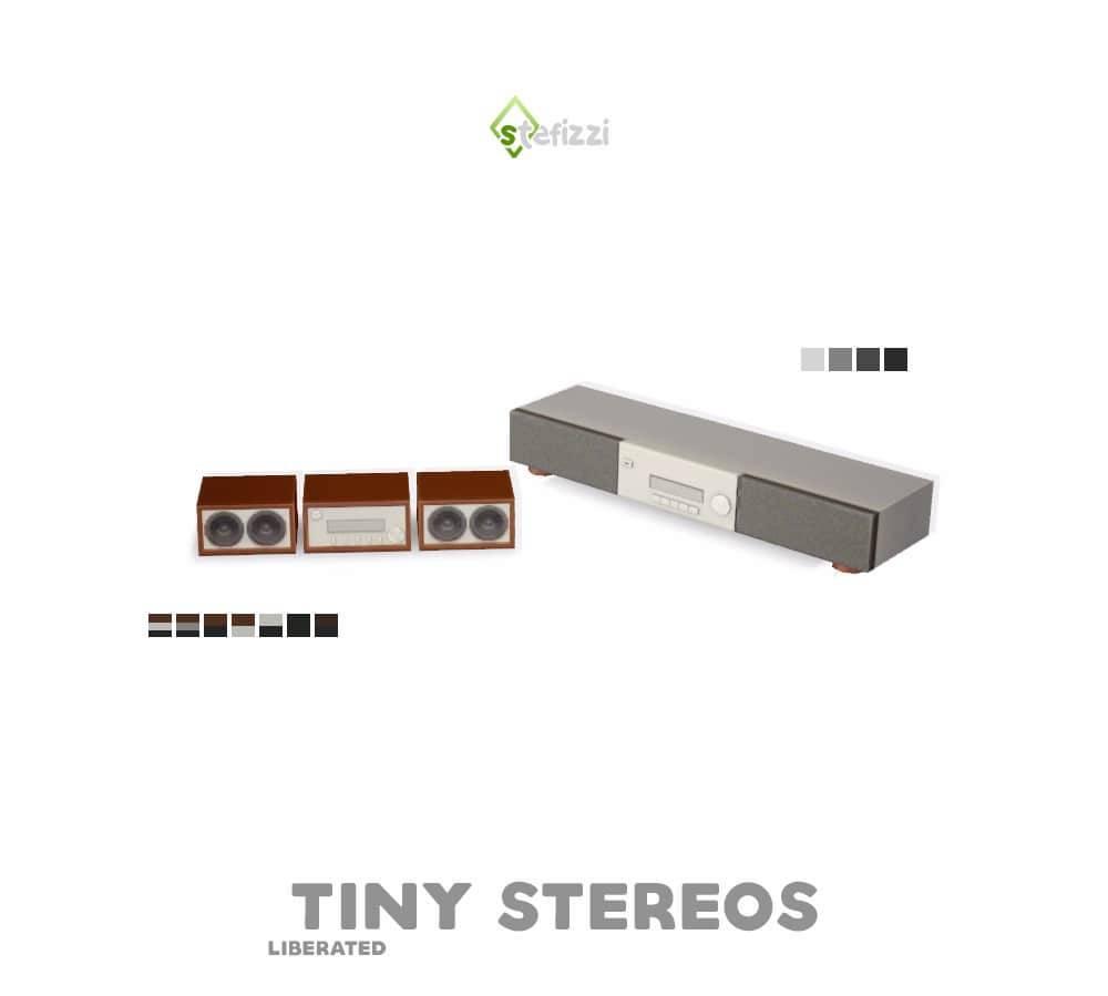 Стереосистемы - TINY STEREOS